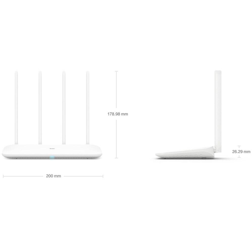 Routeur Xiao mi Original 4 répéteur Wifi 2.4G 5GHz 1167Mbps routeur intelligent à fibres optiques Full Gigabit 128 mo - 2