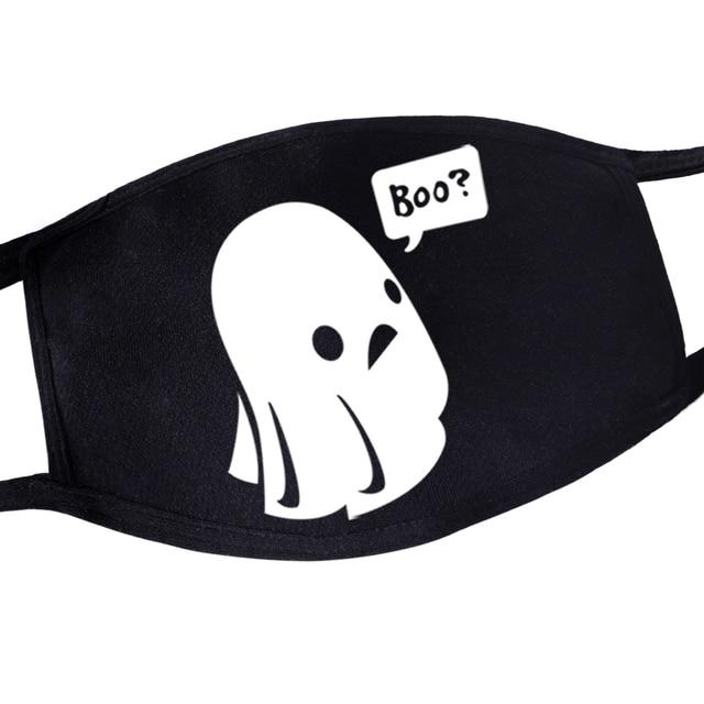 Hip Hop Dustproof Anime Cartoon Kpop Casual Masque De Protection Torror Skull Mouth Masks Maseczki Na Twarz Muffle Face Masks 3