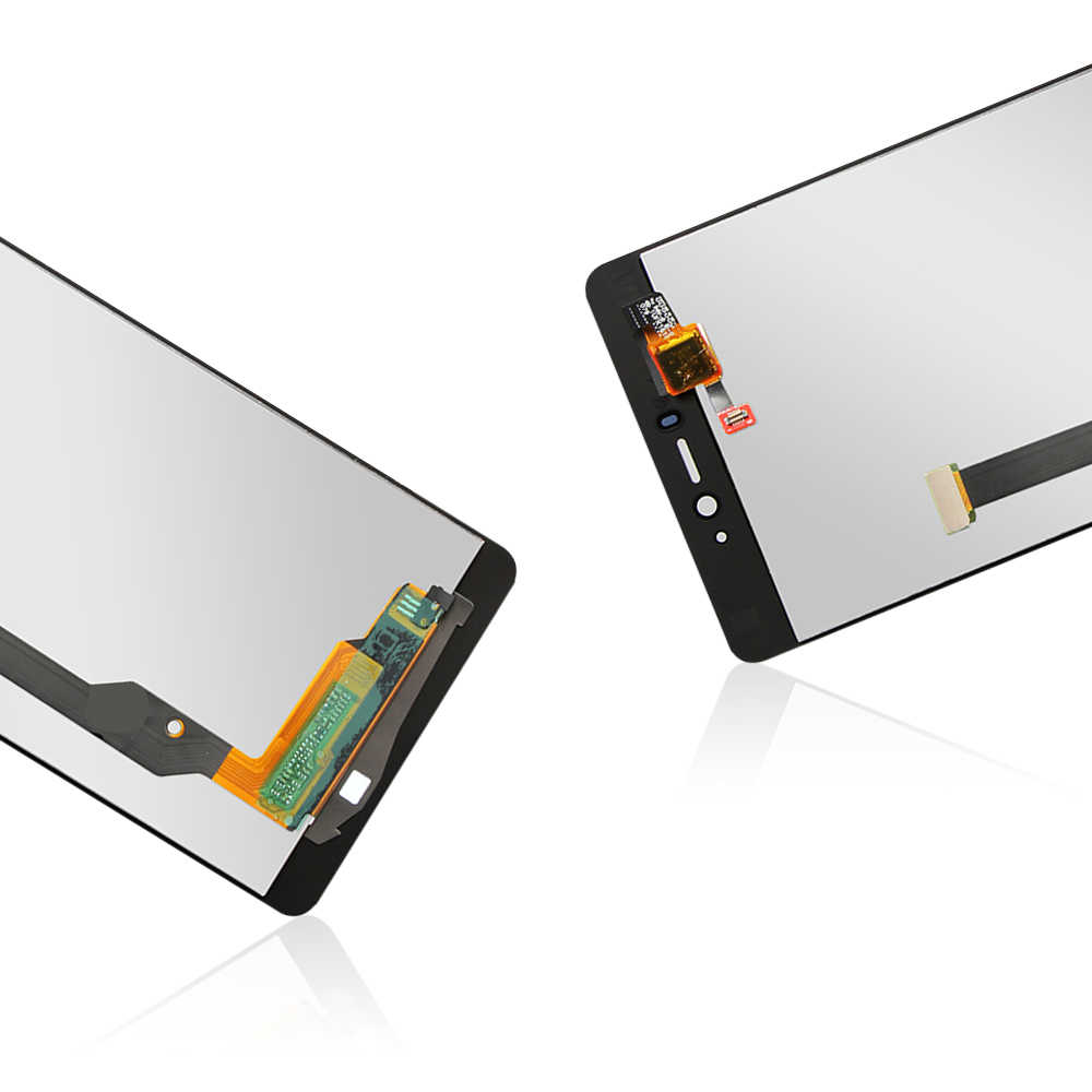 5.0 ''orijinal Mi4C LCD ekran dokunmatik Panel ekran Digitizer meclisi değiştirme Xiaomi Mi4C M4C MI 4C telefonu sensörü parçaları