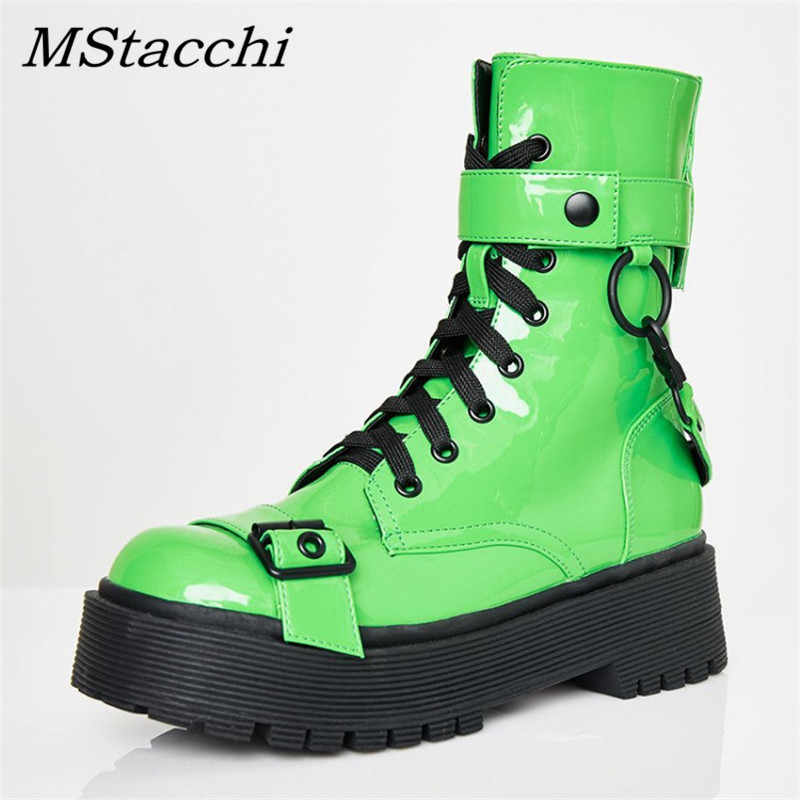 MStacchi Women Fashion Ankle Boots For