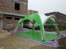 Outdoor 6/5mpvc inflatable airtight tent inflatable advertising campaign tent PVC inflatable awning for sale недорого