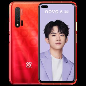 Image 2 - HUAWEI Nova 6 5G MobilePhone 6.57 Inch Kirin 990 Balong 5000 Octa Core Android 10.0 SA/NSA Vân Tay mở Khóa