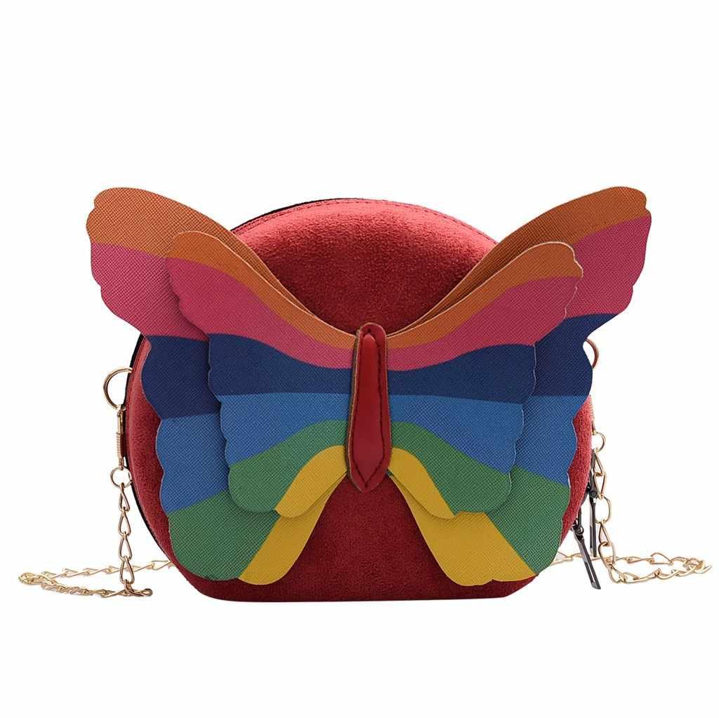 2019 กระเป๋าหนัง VINTAGE Fanny Pack กระเป๋าถือผู้หญิงกลางแจ้งน่ารักรูปแบบหนังสายคล้องไหล่ถุงกระเป๋า Messenger กระเป๋า