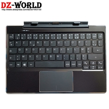 New Original French Base Portable Docking Keyboard with Case for Lenovo Ideapad Miix 310-10ICR Tablet 80SG 5D20L64846