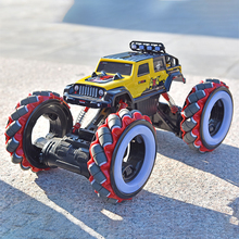 SHAREFUNBAY 1:10 rc car 2020 newest rc car 4wd 2.4hz off-road climbing alloy remote control car high-speed truck children's toy недорого