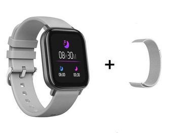 RUNDOING P8 1.4 inch Smart Watch Men Full Touch Fitness Tracker Blood Pressure Smart Clock Women GTS Smartwatch 13