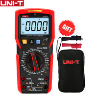 UNI-T ut89xd multímetro digital verdadeiro rms tester ac dc voltímetro amperímetro 1000 v 20a capacitância frequência resistência led medida