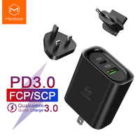 Mcdodo 30W PD USB Charger 3 In 1 EU US UK Plug Travel Wall Adapter for Macbook IPhone Samsung Xiaomi Huawei 5A Super Fast Charge|Mobile Phone Chargers| |  -