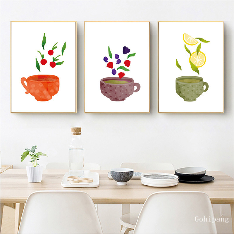 Watercolor-Tea-Cup-Art-Canvas-Painting-Prints-Kitchenware-Wall-Art-Posters-Pictures-For-Dining-Hall-Kitchen (1)