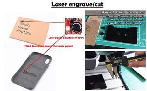 Image 2 - 5.5 ワット 450nm 青色レーザーモジュール、レーザー彫刻機械部品、レーザー切断 ttl モジュール 5500mw レーザーチューブ