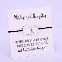 Mãe e filha coração ajustável pulseiras mulheres homens casal amigos para sempre braceletsfashion jóias