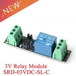 1-канальное реле постоянного тока 3 В, реле высокого уровня, реле управления для Arduino