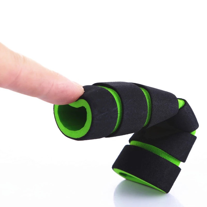 4Pcs Motorcycle Bicycle Cycle Foam Sponge Nonslip Handlebar Hand Grips Cover Set