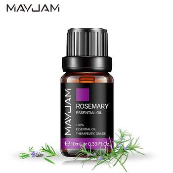 10ML Rosemary Essential Oil Diffuser Pure Natural Essential Oils Lavender Eucalyptus Jasmine Vanilla Mint Chamomile Tea Tree Oil недорого