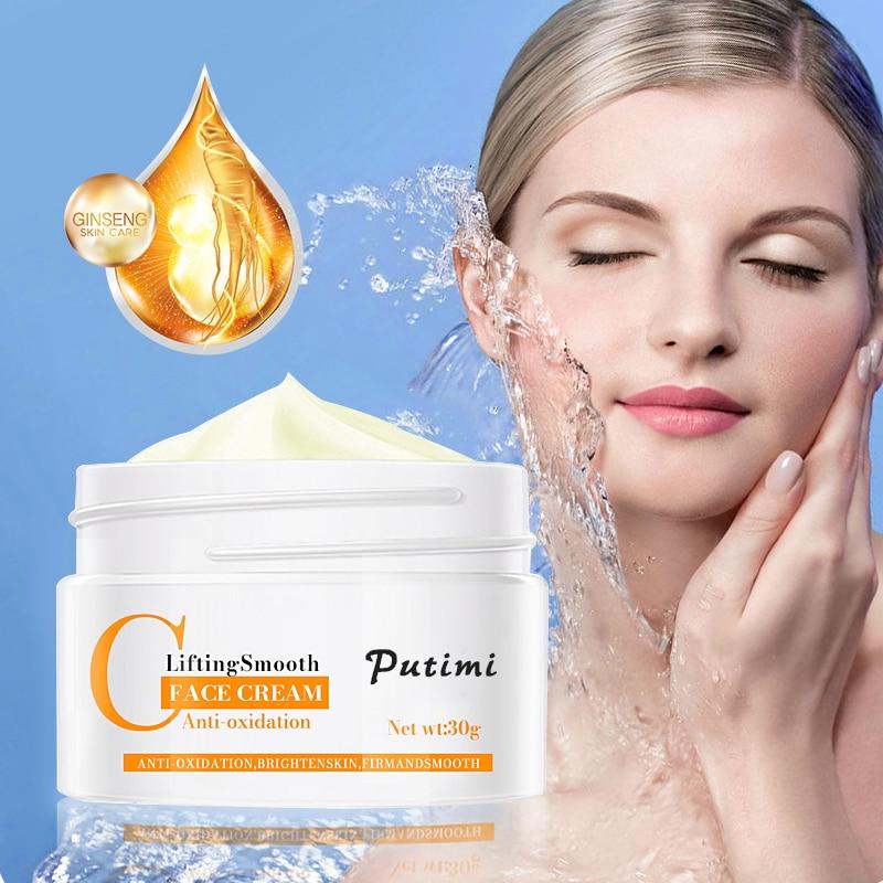 PUTIMI Anti Wrinkle Face Cream Anti-Oxidation Brighten Moisturizer Nourishing Lifting Firming Repair Skin Care Whitening Cream 2