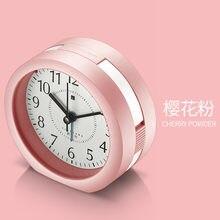 Креативные бесшумные часы будильник милые модные настольные