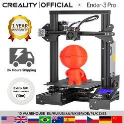 3D принтер CREALITY, профессиональный принтер, печатные маски, магнитная основа, возобновление печати после сбоя питания, набор для самостоятель...