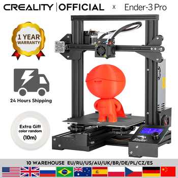 CREALITY 3D Ender-3 Pro Printer Printing Masks Magnetic Build Plate Resume Power Failure Printing DIY KIT Mean Well Power Supply
