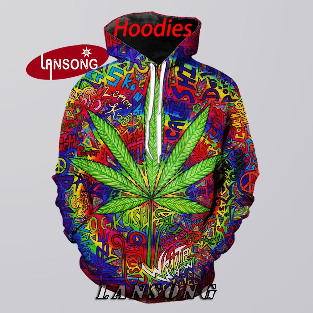 Marijuana Leaf Weed Hoodies Men 3d Print Hooded Sweashirts/pants Fashion Harajuku Pullover Funny Streetwear Hip Hop Hoody Coats