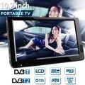 10.2 インチ 12 12v ポータブルデジタルアナログテレビ DVB-T/DVB-T2 TFT LED HD テレビサポート TF カード USB 屋外オーディオ車テレビ