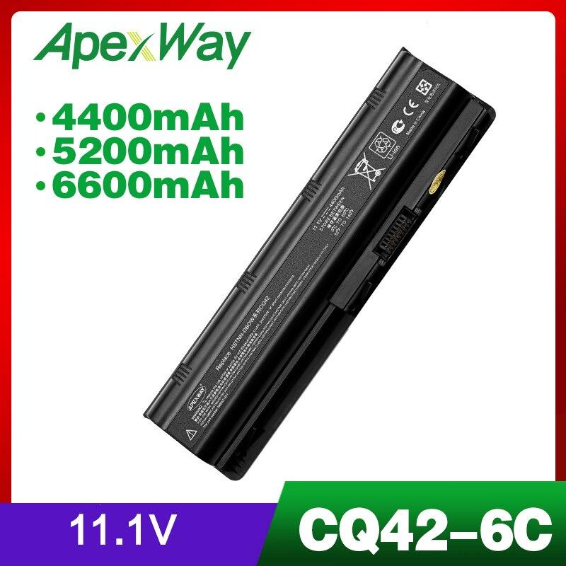 11,1 V batterie für HP mu06 G6 CQ42 CQ62z-300 dv7 593553-001 HSTNN-YB0W 593554-001 CQ42-100 CQ42-200 CQ42-300 CQ43-100 CQ43-200 G7
