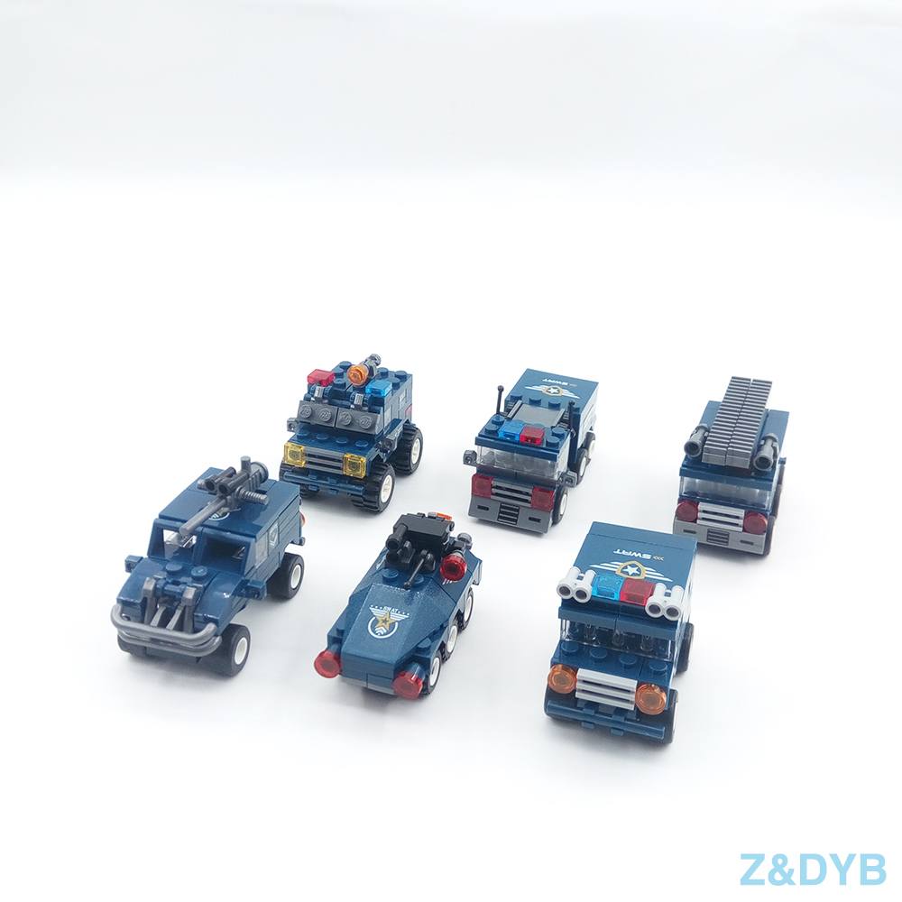 Image 4 - 625PCS/Sets SWAT Team City Police Military Figures Soldier Army Gun Weapon Modern War Build Block Brick legoed For Children Toy-in Blocks from Toys & Hobbies