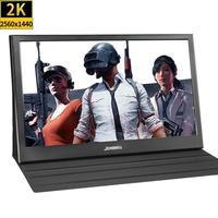 13.3 inch 2560x1440 Portable Monitor pc for PS4 Windows 7 8 10 Full HD LCD 2K HDMI IPS Screen gaming Monitor Ultra Thin Display