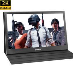 13,3 zoll 2560x1440 Tragbare Monitor pc für PS4 Windows 7 8 10 Volle HD LCD 2K HDMI IPS bildschirm gaming Monitor Ultra Dünne Display