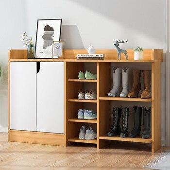 Household Doorway Shoe Cabinet Minimalist Modern Storage Cabinet Economical Door Entrance Cabinet Province Space Simple Shoe Rac