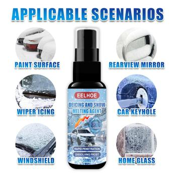30ml plecak do gaszenia pożaru samochodu szkło Spray śnieg topliwy środek zimowe okno topnienia śnieg w sprayu odladzanie spryskiwacz śnieg w sprayu tanie i dobre opinie CN (pochodzenie)