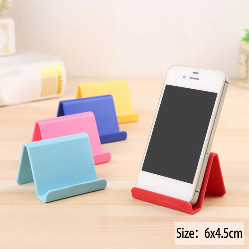6*4.5cm Mobile Phone Holder Candy Mini Portable Fixed Holder Home Supplies Movable Shelf Organizer Holder