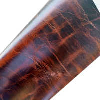 DIY materia Leather craft Genuine Leather Crazy horse leather First layer cowhide oil wax skin 2.0mm handmade leather