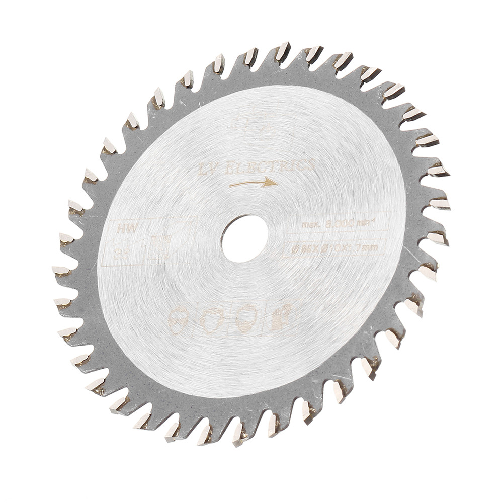 85mm Saw Blade 36 Teeth Circular Cutting Disc 10mm Bore 1.7mm Thickness Woodworking