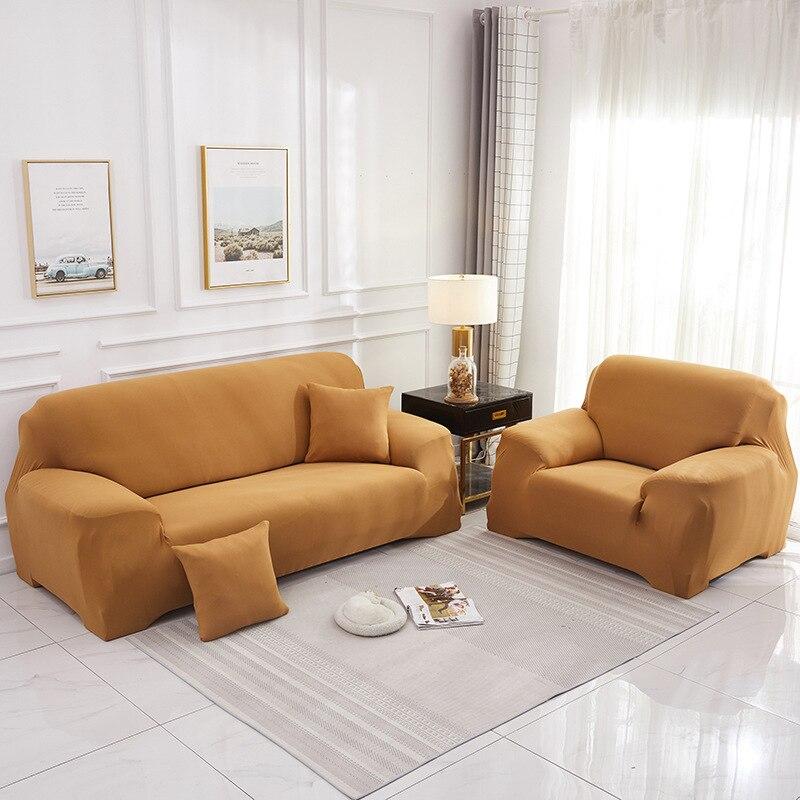Диванных чехлов одноцветное Цвет Защитные уголки для гостиная