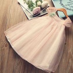 Модное шифоновое платье с цветочным рисунком для маленьких девочек; Летние праздничные платья без рукавов для девочек 2020