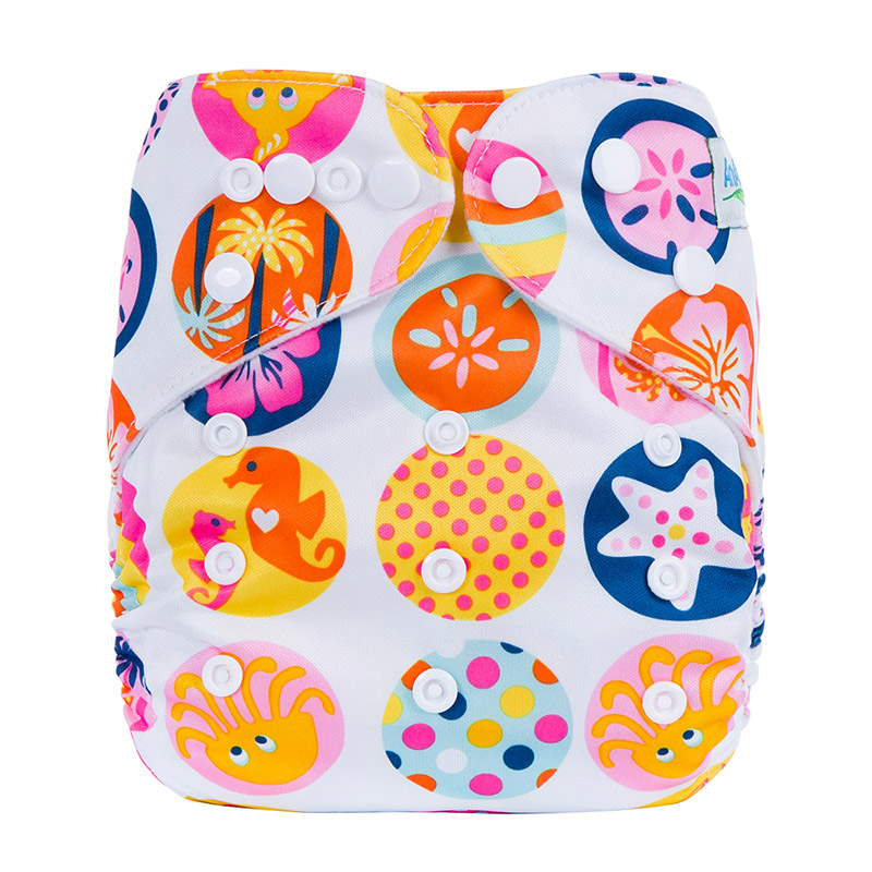 Baby Cloth Diapers One Size Baby Reusable Clothing Diapers For Kids Modern Cloth Nappies L9