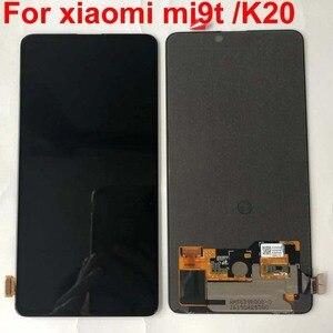 Image 5 - AAA الأصلي Amoled ل 6.39 شاومي Redmi K20 LCD عرض تعمل باللمس محول الأرقام الجمعية ل شاومي Mi 9t ل Redmi K20 برو