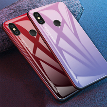 DATALAND For Redmi note 7 Case Luxury Tempered Glass Protective back cover for Xiaomi mi 9t mi9t full Phone