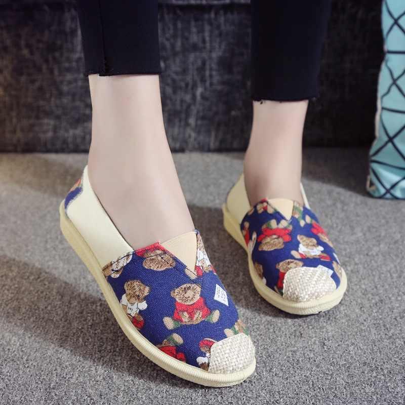 Новинка; сезон весна-лето; женская обувь на плоской подошве; женская повседневная обувь в рыбацком стиле с принтом; повседневная обувь на плоской подошве; D4-74
