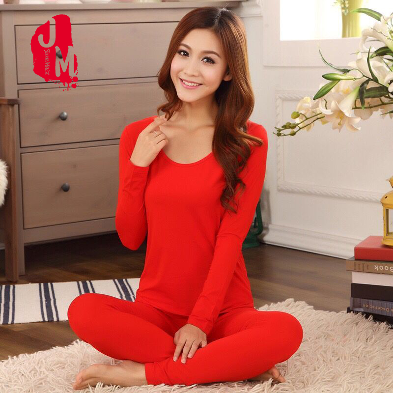 Long Johns For Women Thermal Underwear Set For Winter Winter 2 Piece Set Female Thermal Shirt Pajamas Winter Thermal XXL