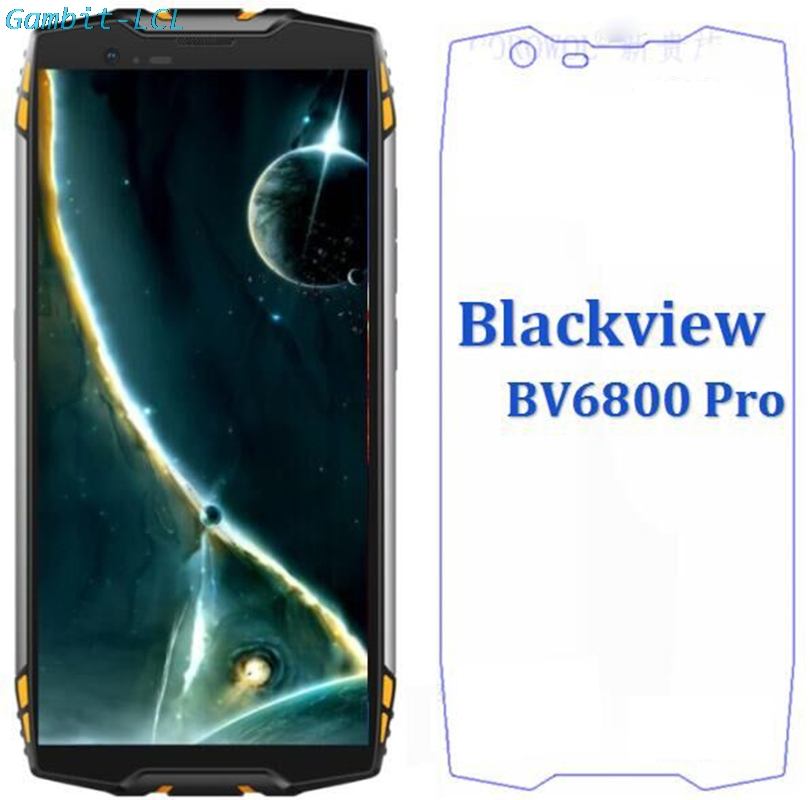 2.5D 9H Premium Tempered Glass For Blackview BV6800 / <font><b>BV6800Pro</b></font> Screen Protector protective Glass film For Blackview BV6800 PRO image