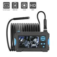 P30 промышленный эндоскоп ручной бороскоп 4,3 дюймов камера 1080P HD видео инспекционная Камера Эндоскоп 5,5 мм