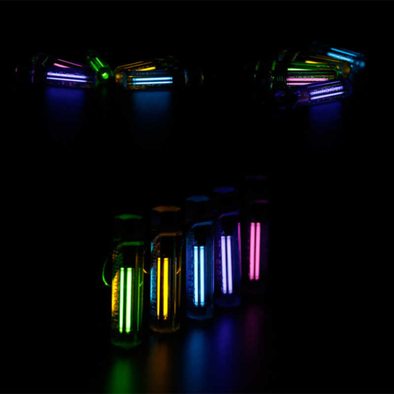 Lampu Emergency Lampu Otomatis Tritium Gas Lampu Gantungan Kunci Life Saving Lampu Darurat untuk Outdoor Safety dan Alat Kelangsungan Hidup