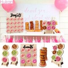 Çörek standları tutucu Donut duvar şeker çubuğu tatlı sepeti düğün dekorasyon çörek düğün doğum günü partisi süslemeleri çocuklar bebek duş
