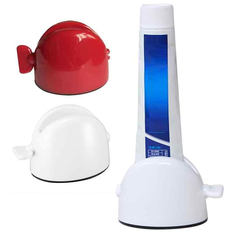 1pc Easy Toothpaste Tube Squeezer Plastic Dispenser Rolling Bathroom Accessories