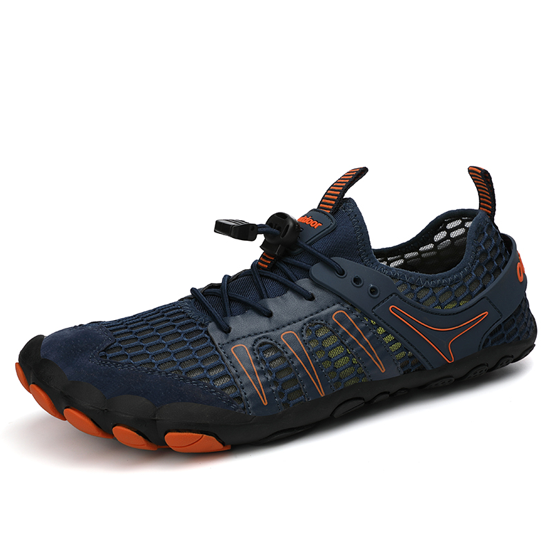 Aqua Shoes Upstream Wear-resistant Hiking Shoes Breathable Outdoor Sports Jogging Sneakers Climbing Water Shoes Trekking For Men
