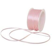 Подарочная упаковка лента и атласная лента 50 м x 3 мм розовый