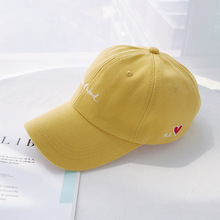 Women Baseball Cap Embroidery Letter Cheap 2019 Hot Selling Yellow Black Couple Snapback Female Male Hip Hop Hat Gorros Pink