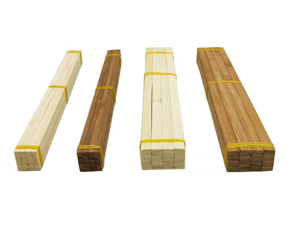 New 500pcs/lot Bamboo Sticks Wooden Craft Sticks Extra Long Sticks for Crafting (11.8 Inches Length × 3/8 Inches Width)