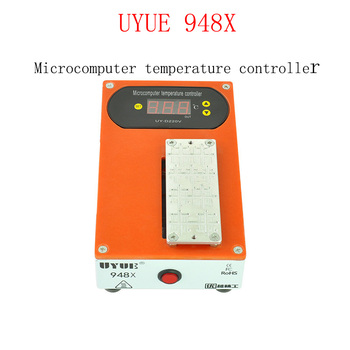 UYUE 948X 220V 400W Electronic Hot Plate Preheat Station Disassemble Remove Frame Bezel Clean Glue for iPhone CUP Chip Edge LCD r2w 6400p r 400w used disassemble
